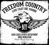 Gráfico do T de Eagle Fotografia de Stock
