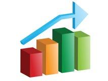 gráfico do vetor 3d Fotografia de Stock