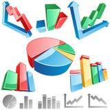 Gráfico do vetor Imagens de Stock Royalty Free