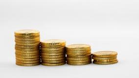Gráfico financeiro Fotografia de Stock