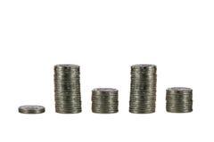 Gráfico financeiro fotografia de stock royalty free
