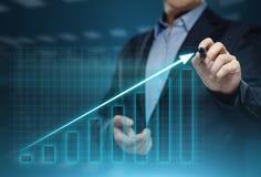 Gráfico financeiro Carta do mercado de valores de ação Conceito da tecnologia do Internet do negócio do investimento dos estrange
