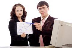 Gráfico g Imagens de Stock
