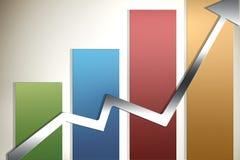 Gráfico ilustrado Foto de Stock Royalty Free