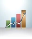 Gráfico ilustrado Foto de Stock