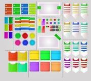Projeto de interface de utilizador interessante Imagens de Stock