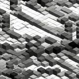 Gráfico isométrico del vector de Infographic Fotografía de archivo libre de regalías