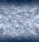 Gráfico tormentoso irritado do fundo da tempestade do céu fotografia de stock royalty free