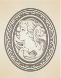 Gráfico vitoriano Imagens de Stock Royalty Free