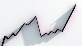 gráficos 3d ilustração stock