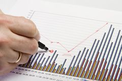 Gráficos 6 do original Imagem de Stock