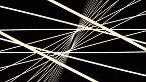 Gráficos abstratos do movimento com espiral colorida Movimento paramétrico Fundo futurista abstrato do espaço Vídeo fantástico ilustração royalty free