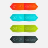 Gráficos coloridos da informação do vetor Foto de Stock Royalty Free