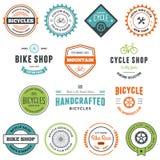 Gráficos da bicicleta Imagem de Stock Royalty Free