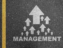 Gráficos da gestão na estrada Fotos de Stock Royalty Free