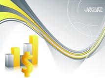 Gráficos de barra Imagem de Stock Royalty Free