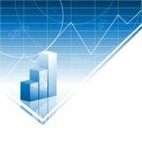 Gráficos de barra abstratos Fotos de Stock Royalty Free
