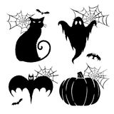 Gráficos de Halloween Imagen de archivo libre de regalías