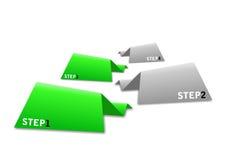 Gráficos de la información de las etiquetas engomadas stock de ilustración