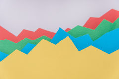 Gráficos de negócio Foto de Stock Royalty Free