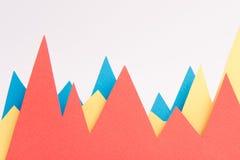 Gráficos de negócio sobre o fundo branco Fotos de Stock