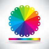 Gráficos de papel abstractos de la información del vector Foto de archivo