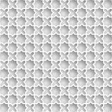 Gráficos de papel musulmanes del vector 3D Imagen de archivo
