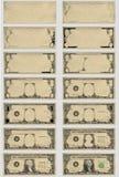 Gráficos del dólar Imagen de archivo