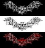 Gráficos del palo de vampiro Imagenes de archivo