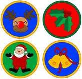 Gráficos do Natal Foto de Stock Royalty Free