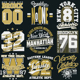 Gráficos do t-shirt de New York ilustração stock