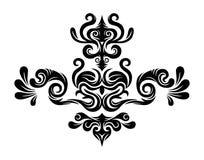 Gráficos florais abstratos Imagens de Stock Royalty Free