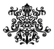 Gráficos florais abstratos Imagens de Stock