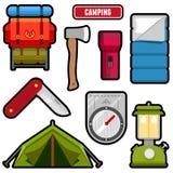 Gráficos que acampan libre illustration