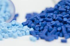 Gránulos plásticos Fotografía de archivo