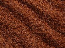 Gránulos procesados del café Fotografía de archivo libre de regalías