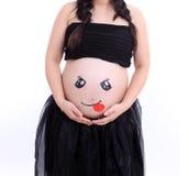 grávido Imagens de Stock