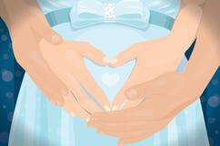 grávido Fotografia de Stock