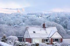 Grâ Bretanha nevado Reino Unido Fotos de Stock