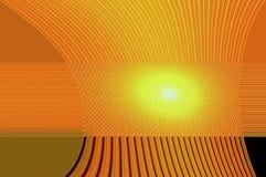 Grâce de la géométrie - dans l'orange. Photographie stock libre de droits