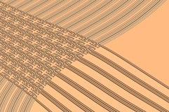 Grâce de la géométrie - dans le beige. Photographie stock libre de droits