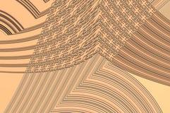 Grâce de la géométrie - dans le beige. Photographie stock