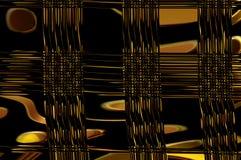 Grâce de la géométrie - en or. Images libres de droits