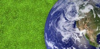 grâce spéciale de la NASA de la terre d'image composée de gouvernement au visibleearth WWW Image stock