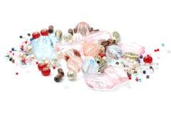 Grânulo e jóia Foto de Stock Royalty Free