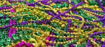 Grânulos & moedas do carnaval fotografia de stock royalty free