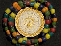 Grânulos antigos do Amulet. foto de stock