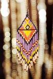 Grânulos, beadworks em um colorido, acessórios Foto de Stock Royalty Free