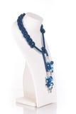 Grânulos, beadworks no branco Fotografia de Stock Royalty Free