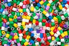 Grânulos coloridos Imagens de Stock